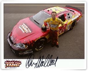 Kenny Wallace's Car for Montreal NASCAR Race
